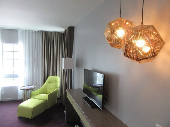 Room 202 at the L Hotel in Miami Beach