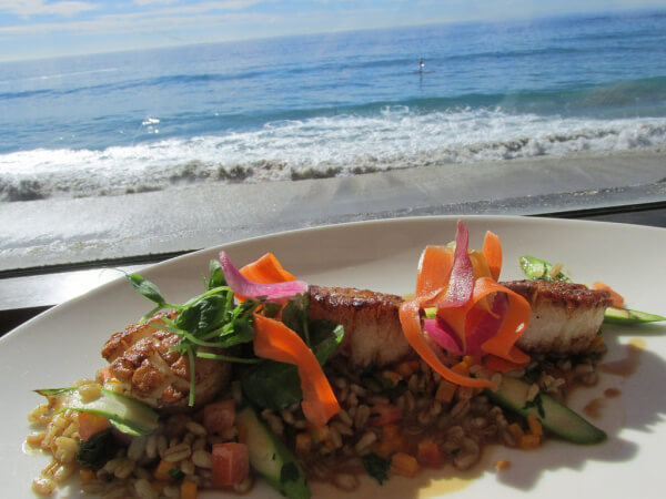 splashes restaurant, surf & sand resort, laguna beach, ocean front hotel