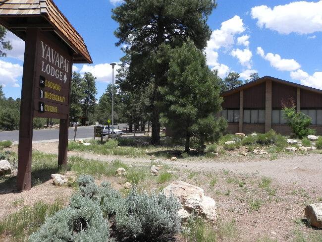 Yavapai Lodge outside