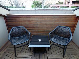 W hotel terrace