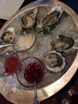 Oysters, Shuckers, Fairmont Olympic Hotel, Seattle, WA