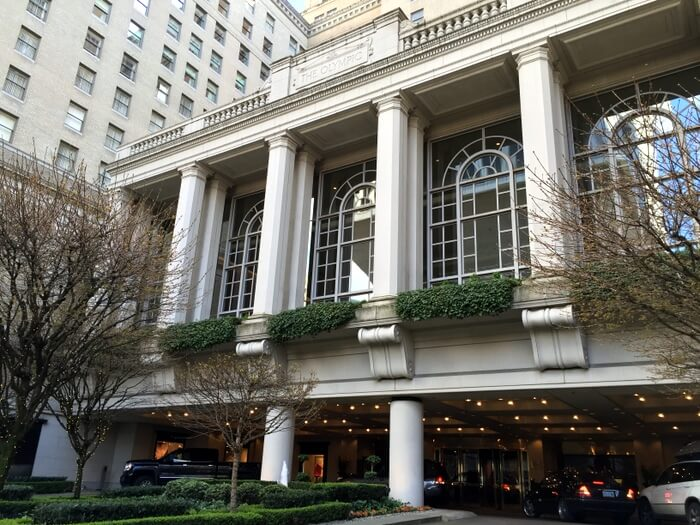Exterior, Fairmont Olympic Hotel, Seattle, WA