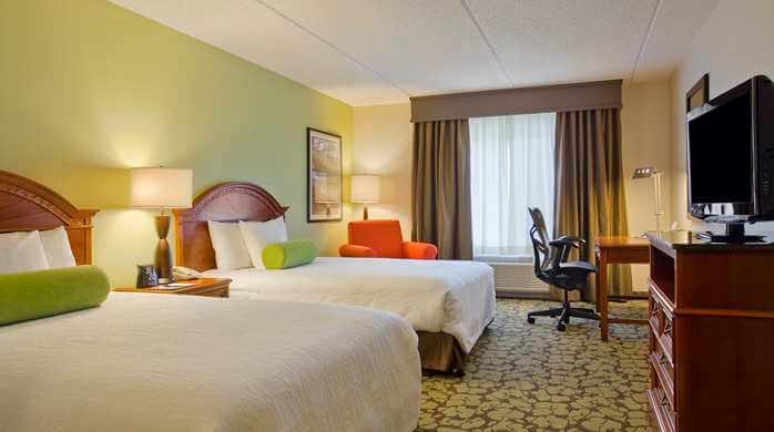 Hilton Garden Inn Salt Lake City Airport Double Guest Room