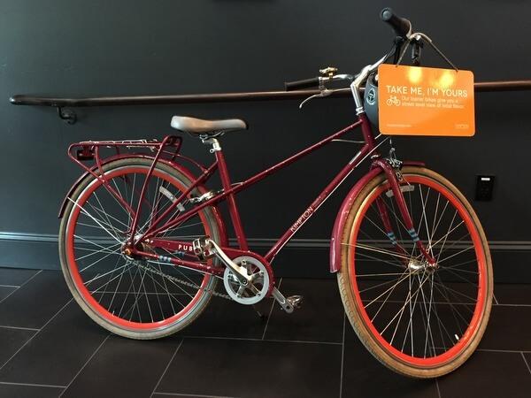 Bicycle, The Palladian, Seattle, WA
