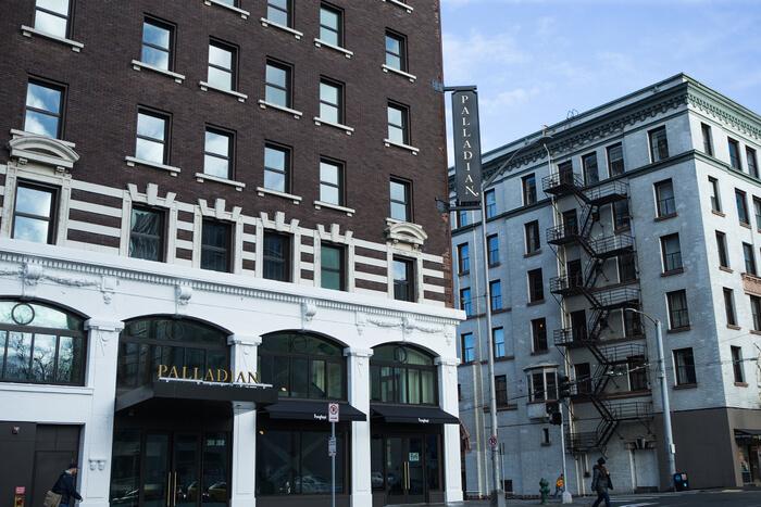 Exterior, The Palladian, Seattle, WA