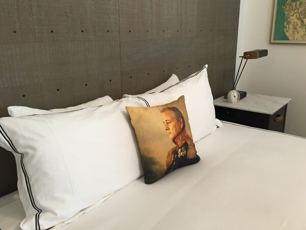 Guest room, The Palladian, Seattle, WA