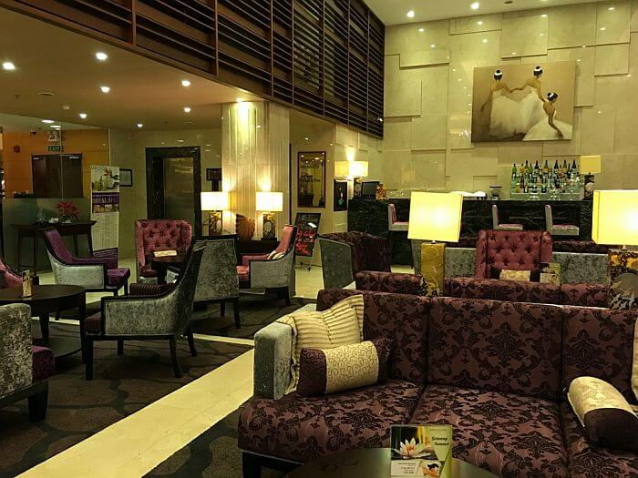 Lobby at Paragon Saigon Hotel