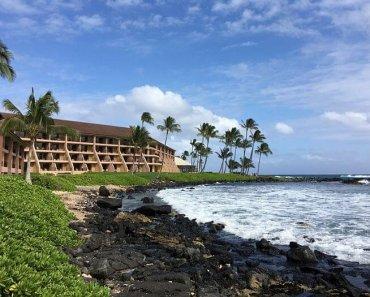 Oceanfront view Sheraton Kauai Resort