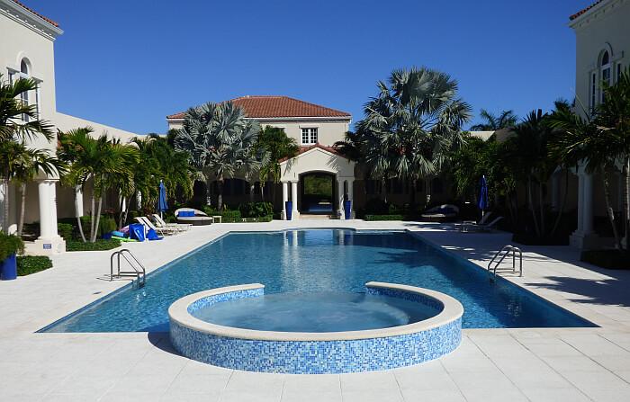 Venetian Resort pool Turks & Caicos