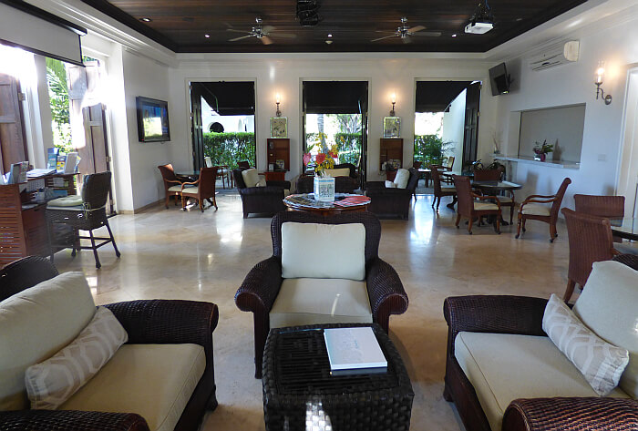 Windsong lobby Turks & Caicos