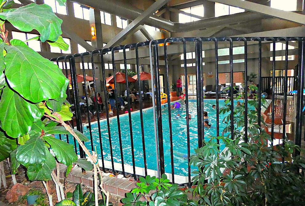 Academy Hotel Colorado Springs Indoor Pool