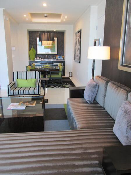aria sky suites, hotel room, las vegas, nevada