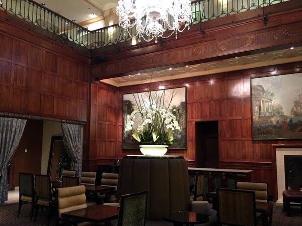 Lobby, Heathman Hotel, Portland, Oregon