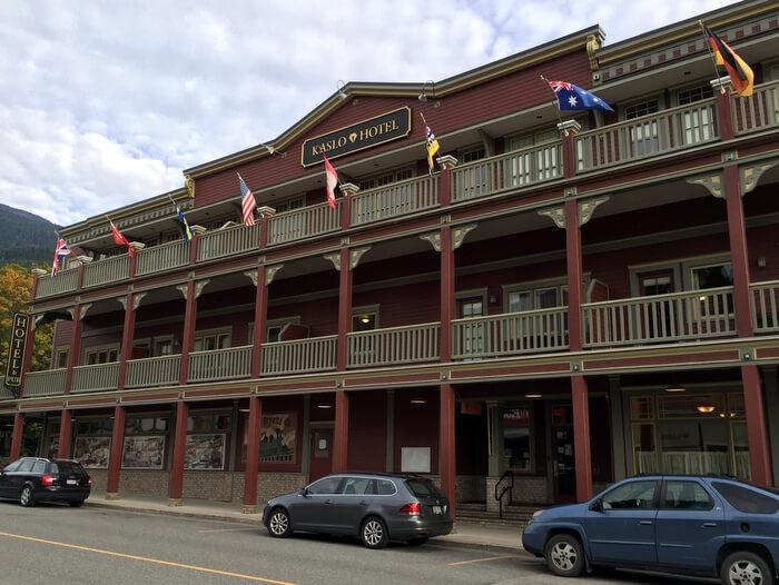 Kaslo Hotel, Kaslo, BC, Canada