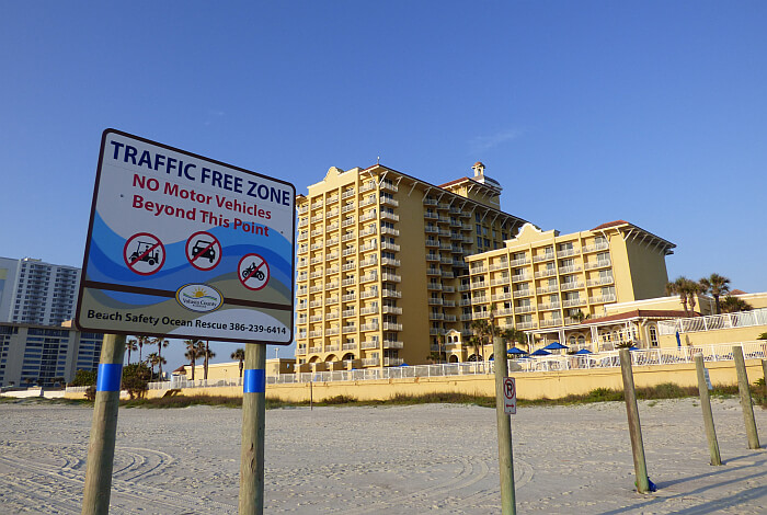 Daytono No Traffic Beach This Daytona Resort