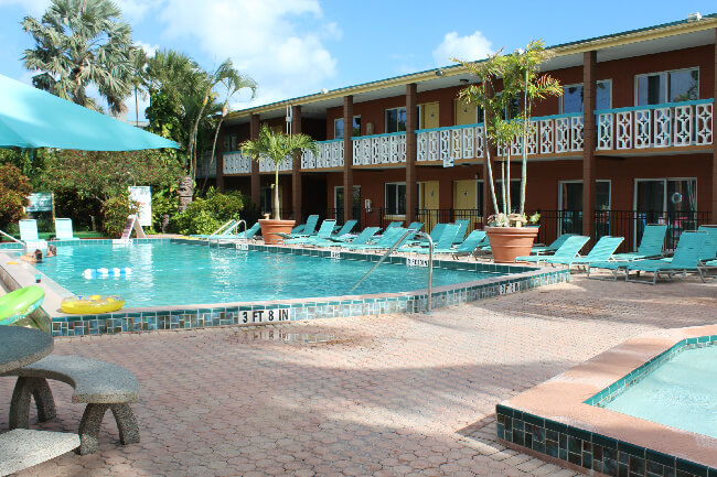 Wakulla Suites Swimming Pool