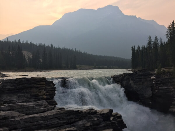 Athabasca Falls, Jasper National Park, Canadian Rockies