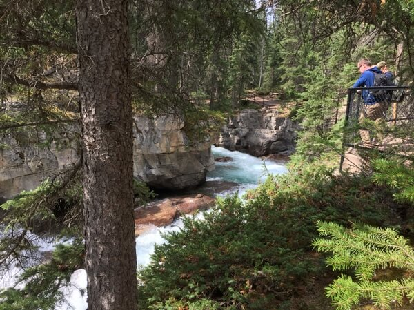 Maligne Canyon, Jasper National Park, Canadian Rockies