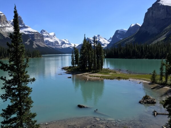 Spirit Island, Maligne Lake, Jasper National Park, Canadian Rockies