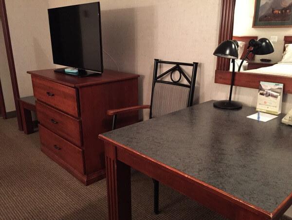 Guest room, Mount Robson Inn, Jasper, Alberta, Canada