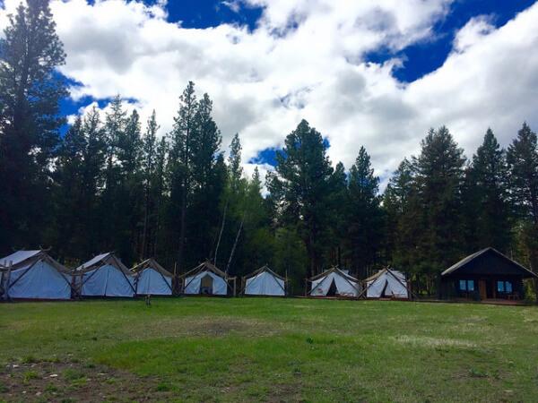 resort at paws up, spa town, greenough, montana, missoula resort