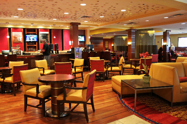 Mingle possibilities at the Cleveland Airport Marriott