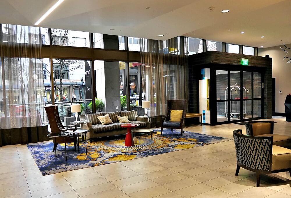 motif seattle lobby