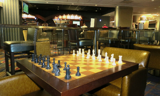 A chance to play another type of chess