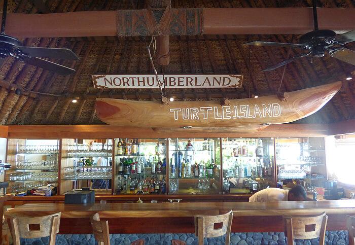 Blue Lagoon island Fiji