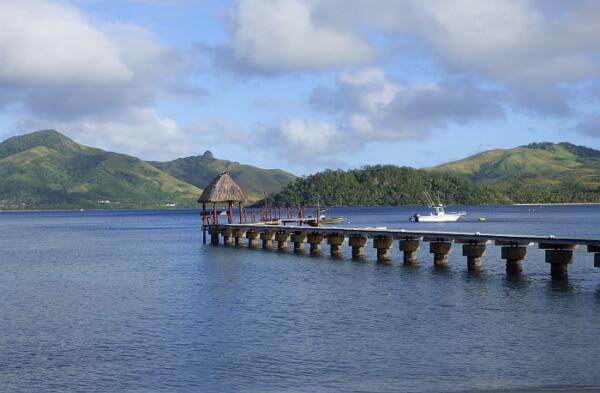 Turtle Island pier