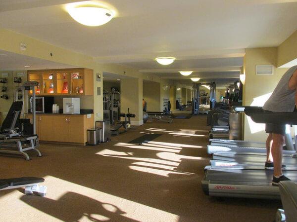 hotel irvine, gym, irvine, california, hotel