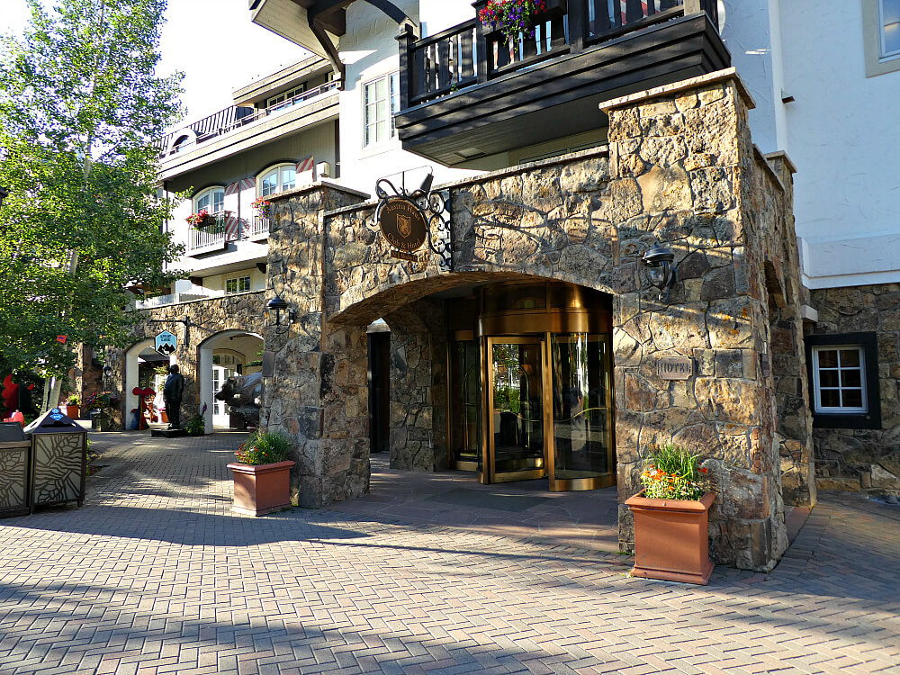 Vail Austria Haus Entrance