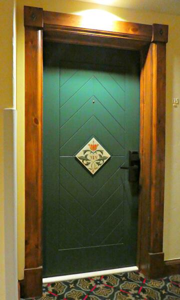 Vail Austrian Haus Hotel Door