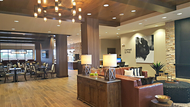 Fairfield Inn Cheyenne Lobby