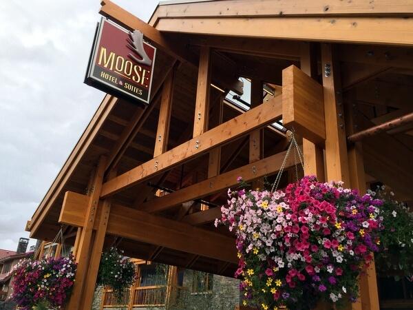 Exterior, Moose Hotel, Banff Alberta Canada