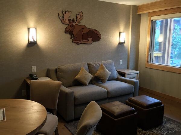 Suite, Moose Hotel, Banff Alberta Canada