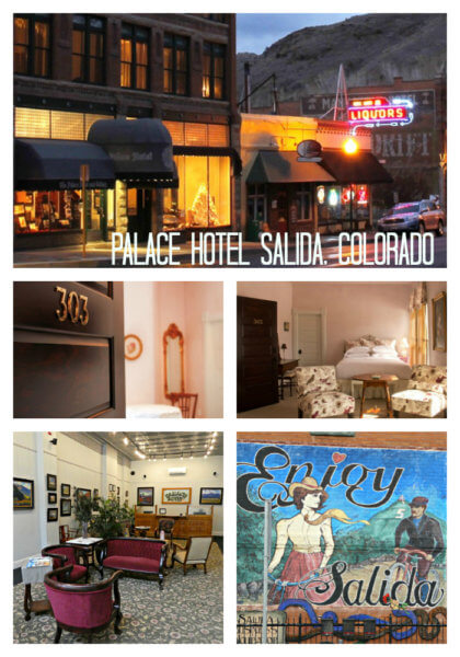 Palace Hotel Salida Colorado Collage-1