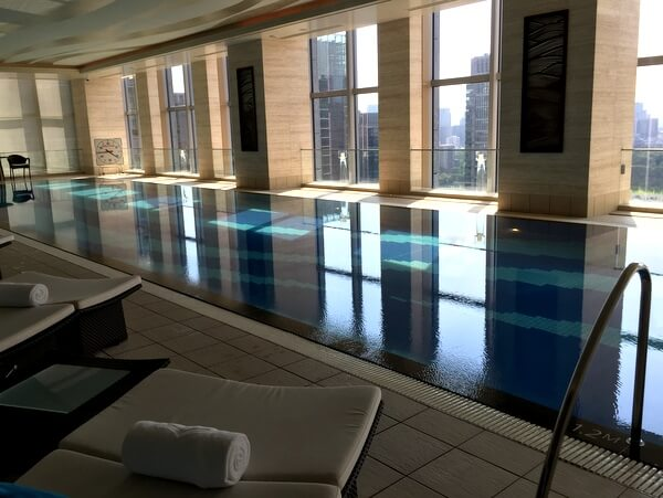Pool, Shangri-La Hotel Tokyo, Japan