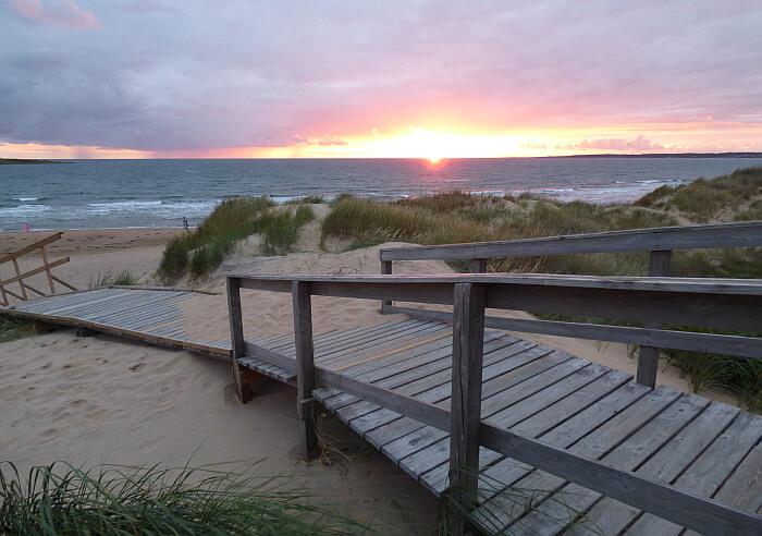 Halmstad beach