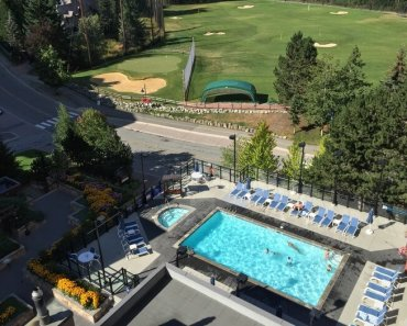 Pool, Hilton Resort & Spa, Whistler, BC Canada