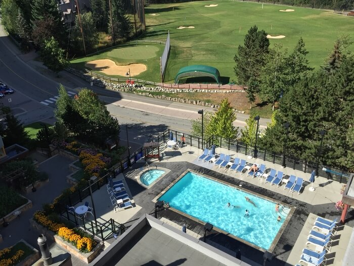 Pool, Hilton Resort & Spa, Whistler, BC Canada