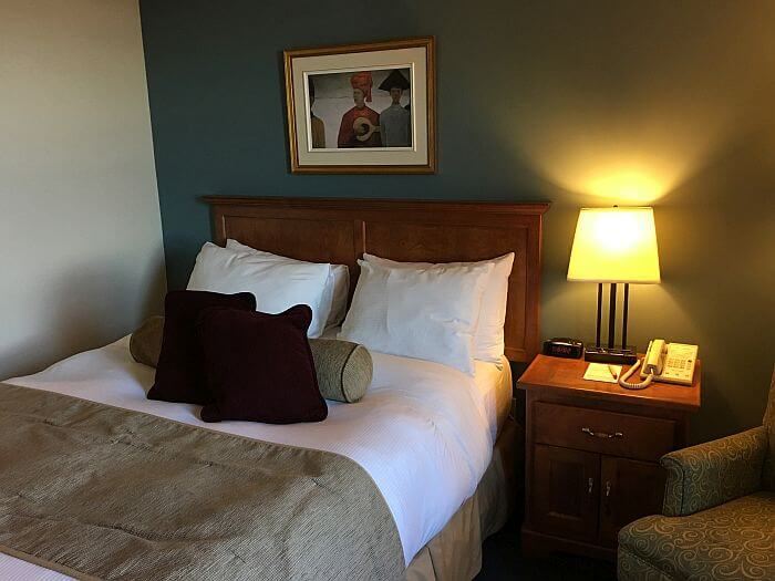 room at Hotel tadoussac