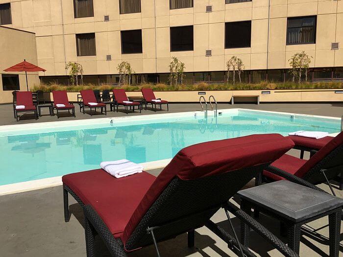 Oakland Marriott Pool