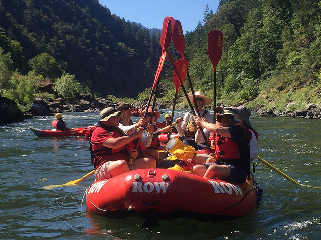 row adventure, rogue river, rafting trip, marial lodge, southern oregon