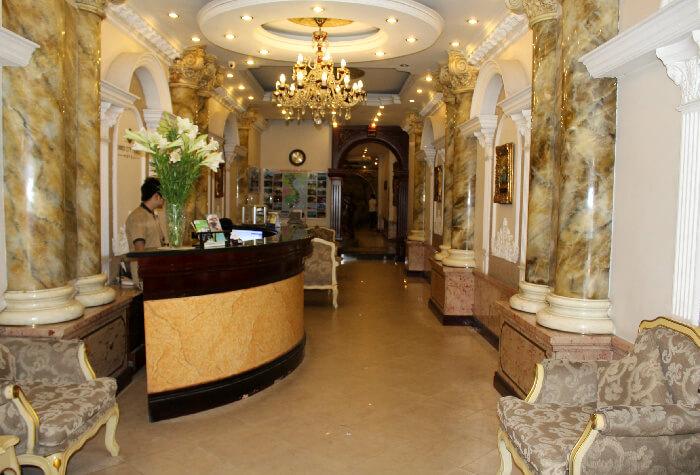 The Hanoi City Palace Lobby and Lounge