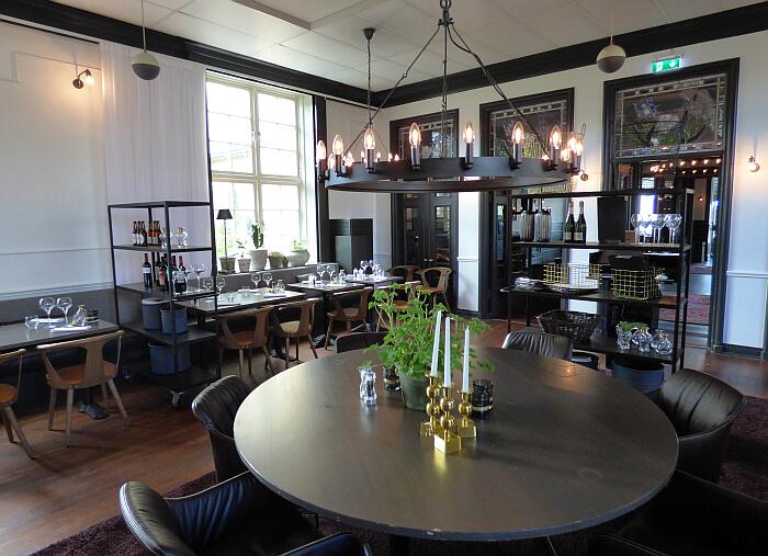Kusthotell restaurant