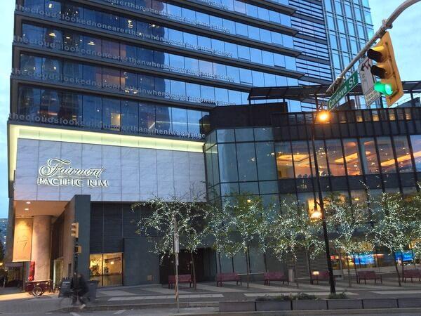 Fairmont Pacific Rim Hotel, Vancouver, BC Canada