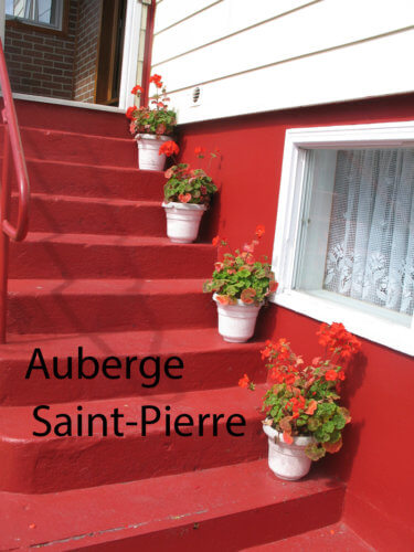 Entrance to Auberge Saint-Pierre
