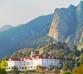 The Stanley Hotel of The Shining fame