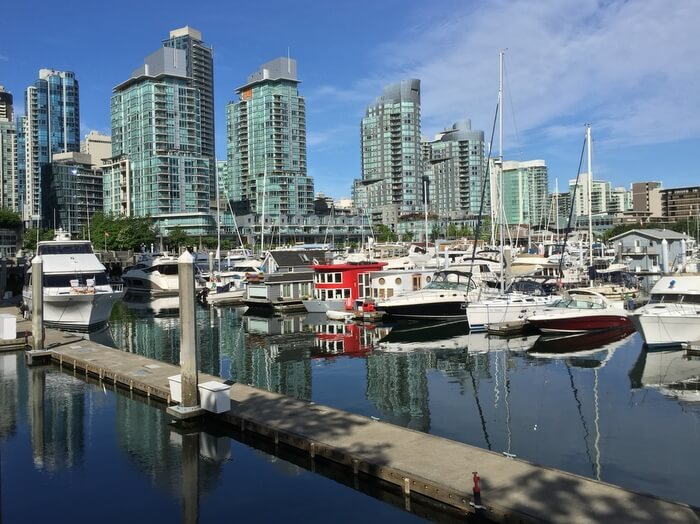 Coal Harbour, Downtown Vancouver, BC, Canada